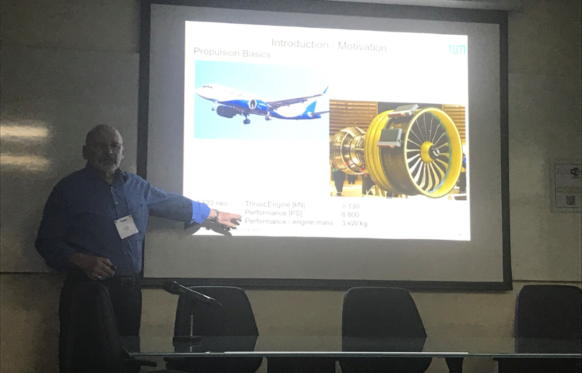 Presentation by Munich Aerospace Research Group Leader Professor Oskar Haidn