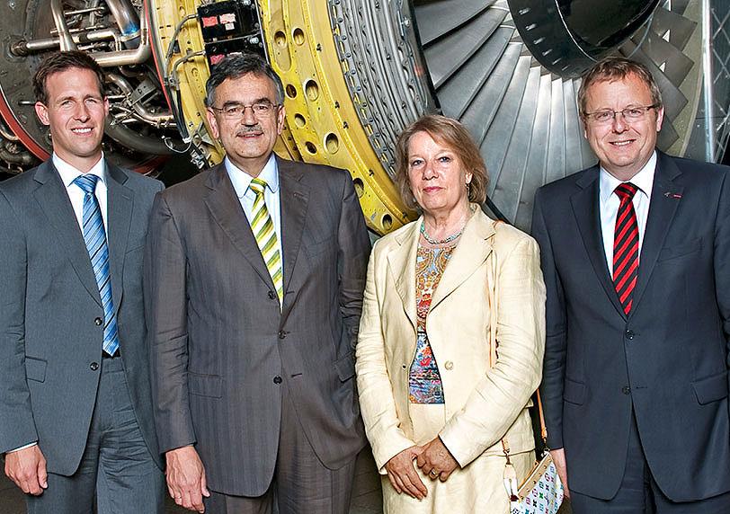 Gründung von Munich Aerospace im Juli 2010