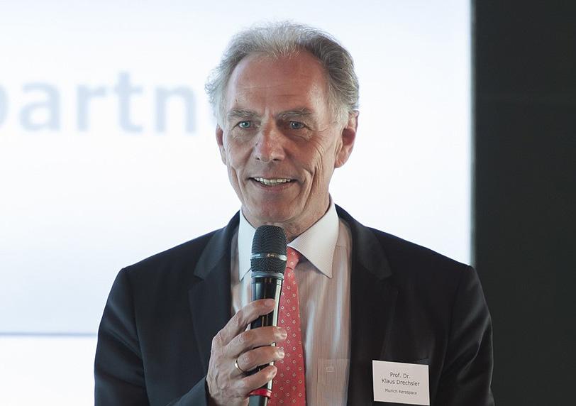 Munich Aerospace-Vorstand Prof. Klaus Drechsler
