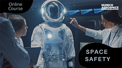 "Trailer zum Online-Kurs ""Space Safety"""