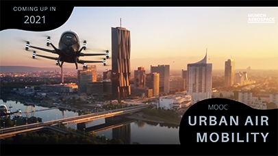 "Trailer zum MOOC ""Urban Air Mobility"""