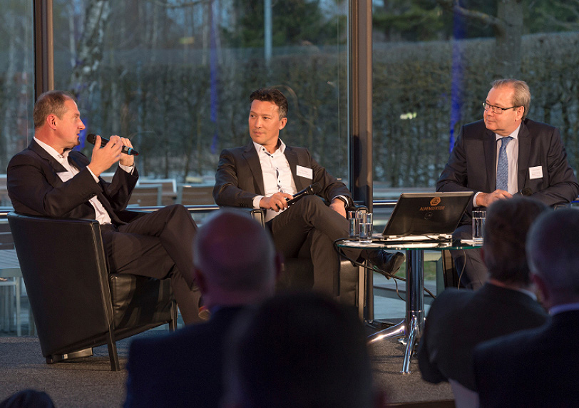 SpaceX and Airbus panel at Munich Aerospace Summit